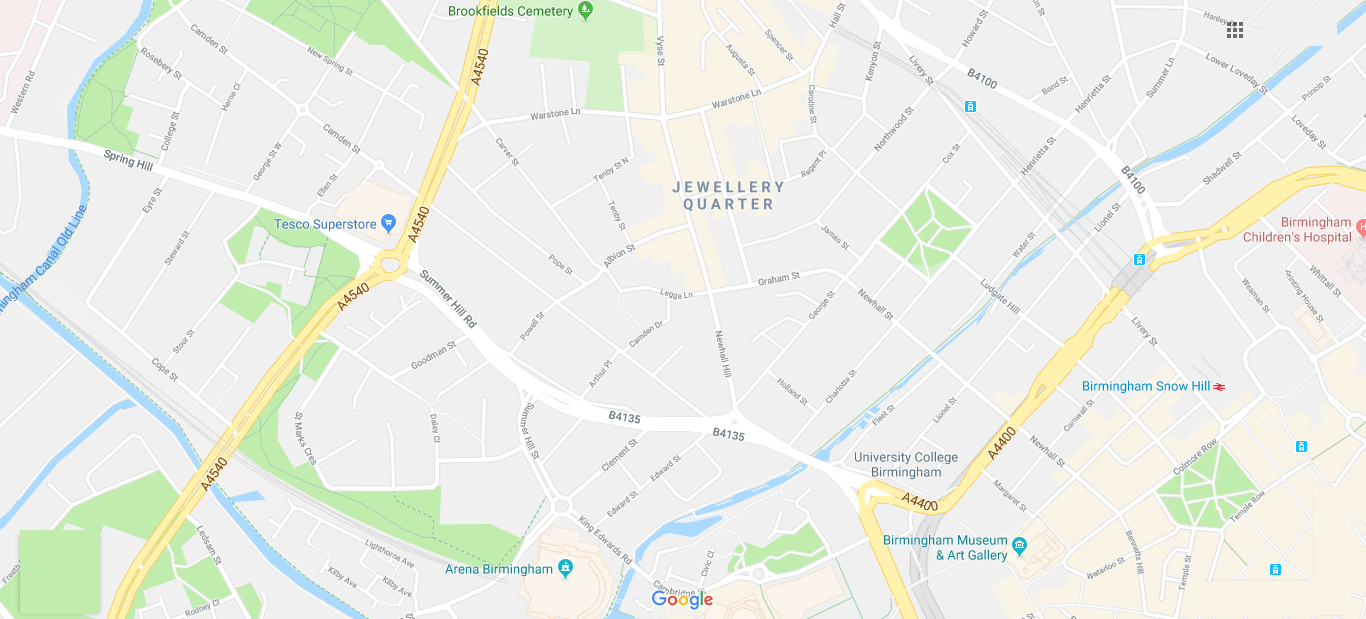 Office Relocation Companies Jewellery Quarter Birmingham